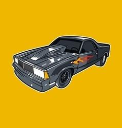 Car race vector