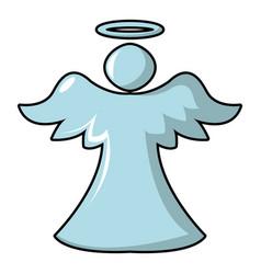 Angel icon cartoon style vector