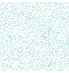 Blue tribal abstract seamless repeat pattern vector