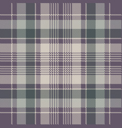 Check plaid pixel fabric texture seamless pattern vector