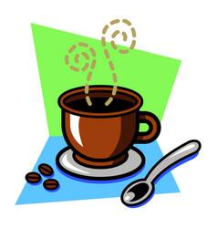 coffee drink icon vector image