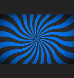 Decorative retro blue spiral background swirling vector