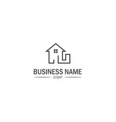 House business logo vector