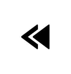 player arrow icon music and video sign vector image