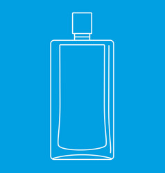 Scent bottle icon outline style vector