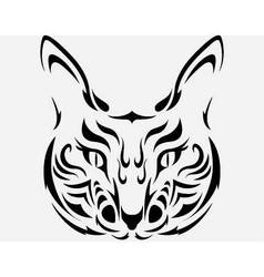 Cat tatto vector