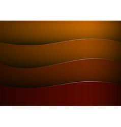 background red stripe wave vector image vector image