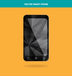 Abstract Crystal Smart Phone vector