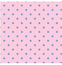 Blue dots pattern pink background image vector