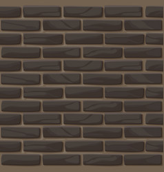 brick wall texture seamless vector image