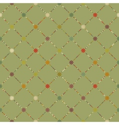 Retro dot pattern background EPS 8 vector image