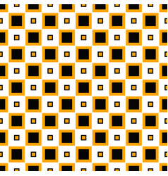 Seamless geometrical square pattern design vector