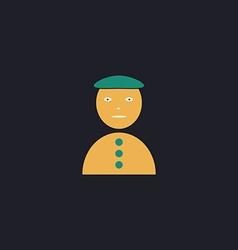 clown jester computer symbol vector image vector image
