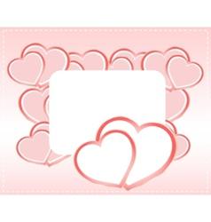 greeting scrapbook vector image vector image