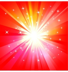light explosion vector image vector image