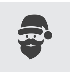 Santa Claus icon vector image