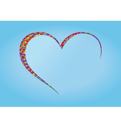 Heart abstract vector