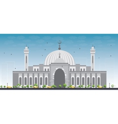 Al Fateh Grand Mosque in Manama vector