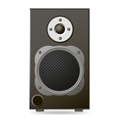 Black Audio Speaker vector