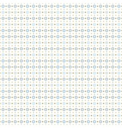 Blue and beige small circles vector image