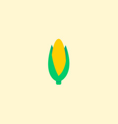 corn icon flat element of vector image