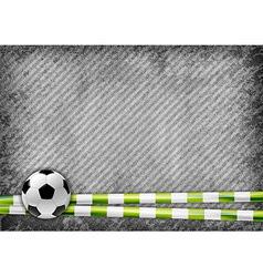 football texture green vector image
