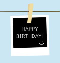 happy birthday1 vector image