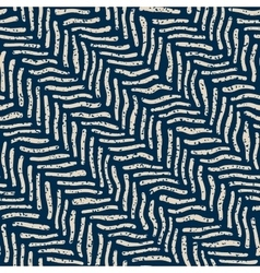 Seamless Hand Drawn Distorted Lines Grunge vector