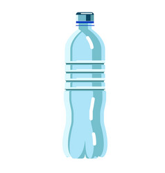 water bottle isolated on white background vector image