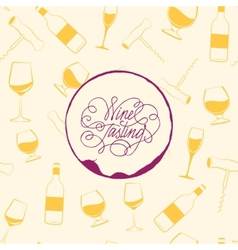 Wine drops over text paper background vector