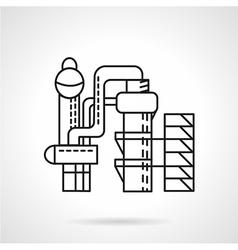 Distillery icon thin line style vector