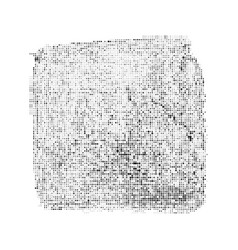 abstract halftone square vector image vector image