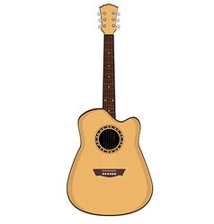 Brow guitar vector image