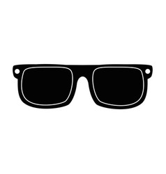 summer sunglasses isolated icon vector image