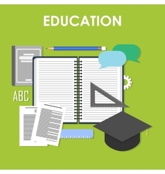 Education online professional education vector image