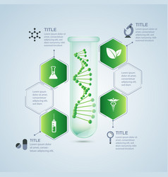 biological research vector image