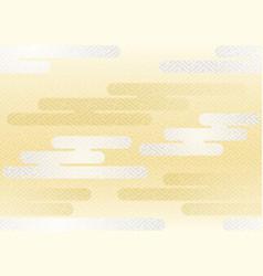 Japanese vintage seamless cloud pattern vector
