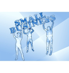 Small business vector
