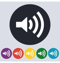 Stock Linear icon sound vector image