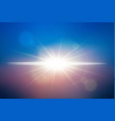 Sunlight background vector