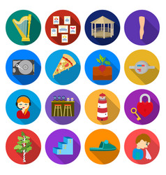 travel business ecology and other web icon in vector image