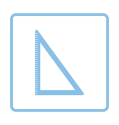 Triangle icon vector