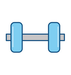 Weight gym sport vector