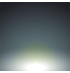 Smooth Dark blue green background vector image