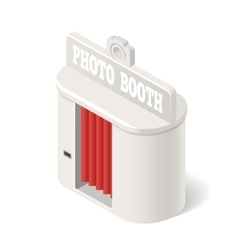 photo booth vector image vector image