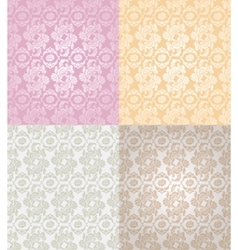 seamless pattern decorative background vector image vector image