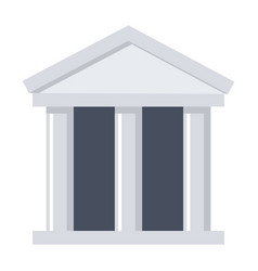 scientific organization icon vector image vector image
