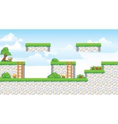 2d tileset platform game vector
