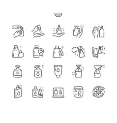 antiseptic well-crafted pixel perfect vector image