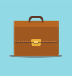 business briefcase suitcase bag for documents vector image